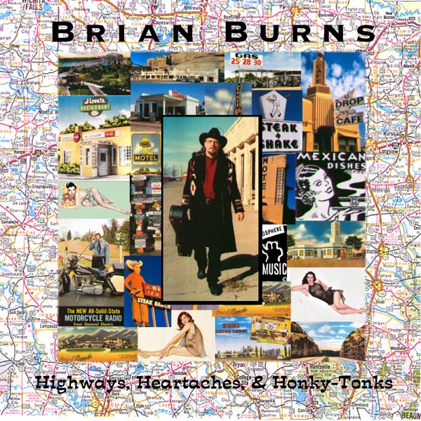 Highways, Heartaches, & Honky Tonks Album Cover
